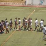 大阪桐蔭vs常翔学園@大阪府高校総体ラグビー2015