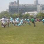 高校ラグビー兵庫県民大会準々決勝 関西学院vs神戸