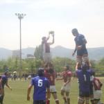 高校ラグビー兵庫県民大会準々決勝 市立尼崎vs兵庫工業
