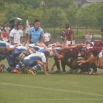 高校ラグビー兵庫県民大会準々決勝 六甲アイランドvs報徳学園
