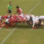 神戸製鋼vs京都産業大 ラグビー練習試合2015