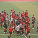 関西大学vs天理大学 ラグビー練習試合2015